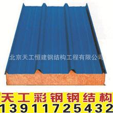 厂家直销生产移动房材料、岩棉?#34892;?#24425;钢板价格低