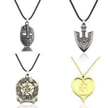 JOJO的奇妙冒险仗助承太郎石鬼面替身 岸边露伴 五角星 徽章项链