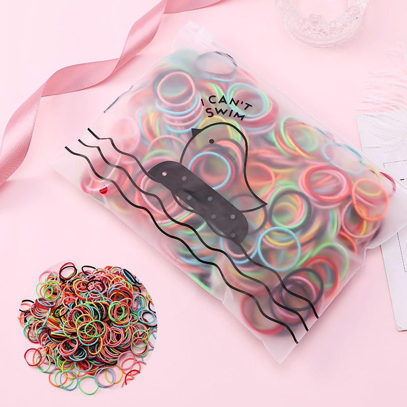 100 pieces of 3CM color rubber band cheap scrunchies wholesale NHNA207451