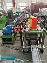專業定制生產鍍鋅鋼不銹鋼門框型材冷彎成型機 門框型材生產設備
