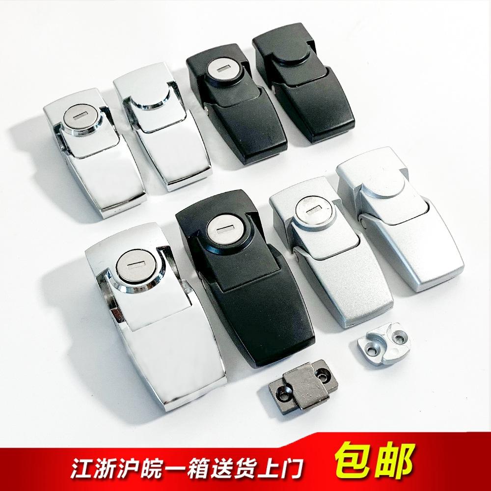 工业柜锁DKS-1-2 DK604-1-2搭扣柜门锁 机箱锁 隐藏式锁扣 带钥匙