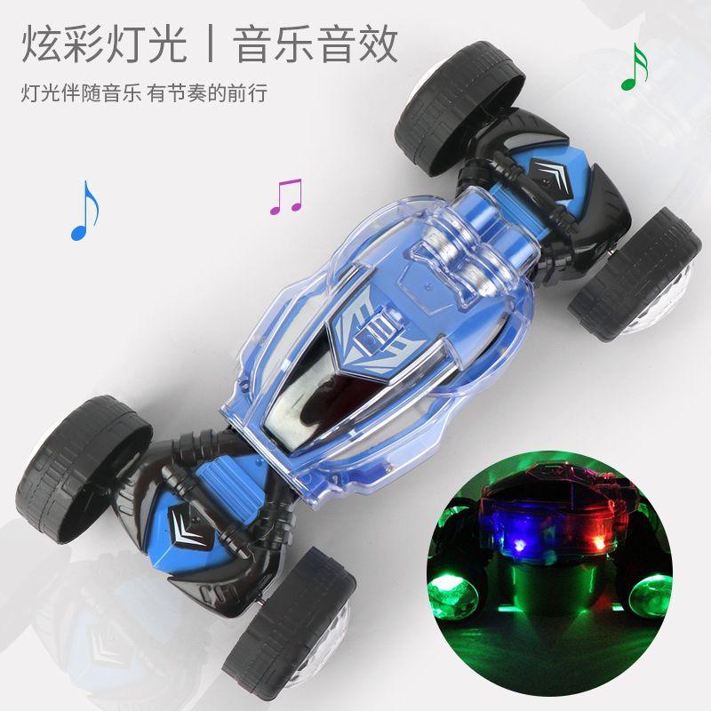 跨境扭变电动变形车灯光音乐越野车男孩1-3岁儿童玩具车模型 批发