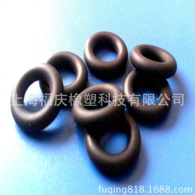 福庆橡塑厂家供应氟橡胶O型圈  耐腐蚀橡胶件  来图定制密封圈