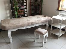 上海包邮新款白色欧式美容院床实木美体床养生护理床采耳推拿会所