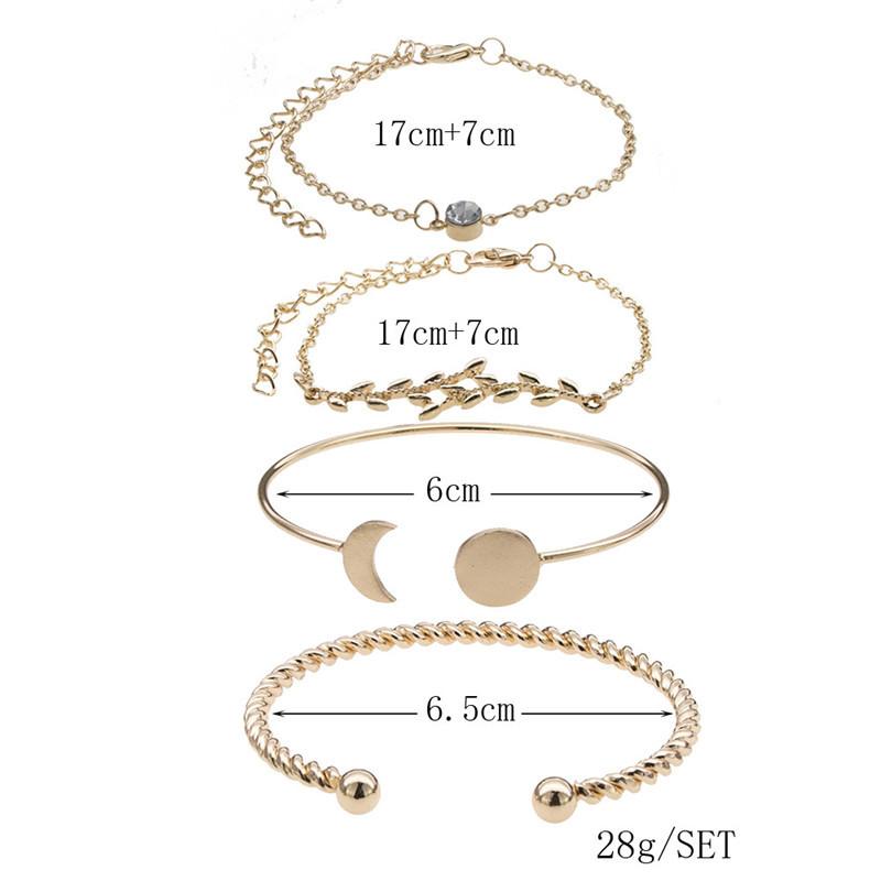 Alloy Fashion Geometric bracelet  (Alloy)  Fashion Jewelry NHNZ1294-Alloy