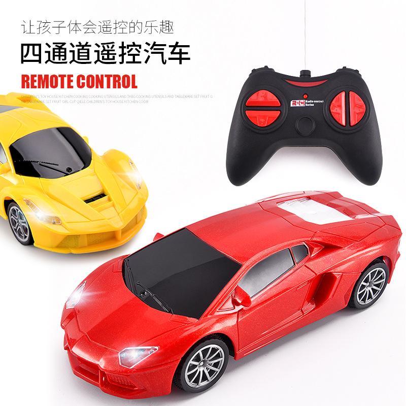 兒童遙控玩具車批發定制 仿真汽車代發電動遙控車四通道rc car