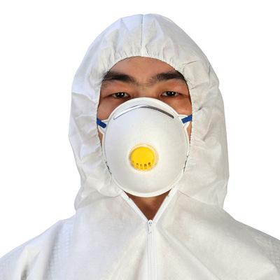 一次性口罩N95杯型带呼吸阀防雾霾颗粒物无纺布工业防尘花粉口罩