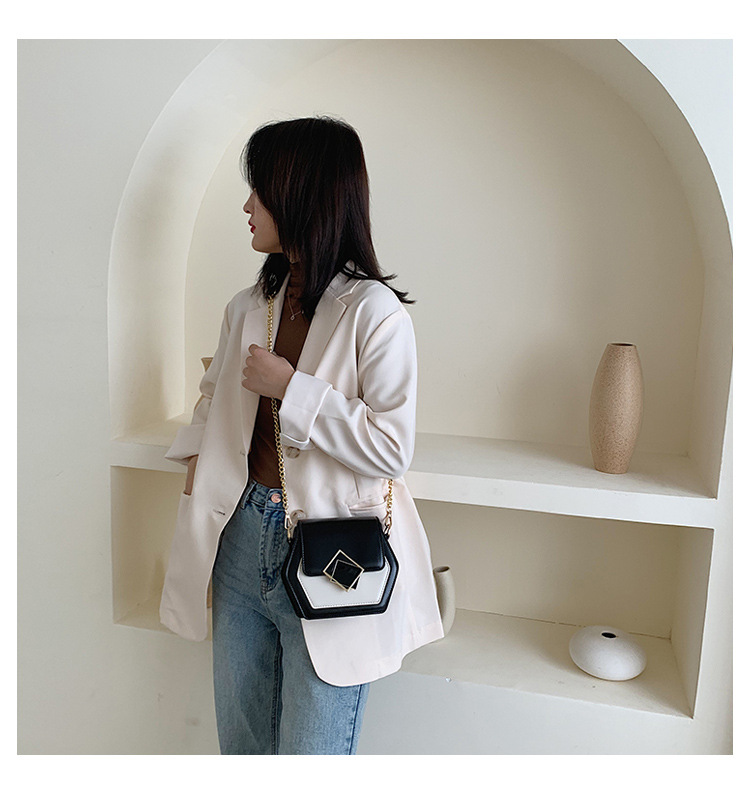 Fashion simple shoulder messenger bag NHTC150567