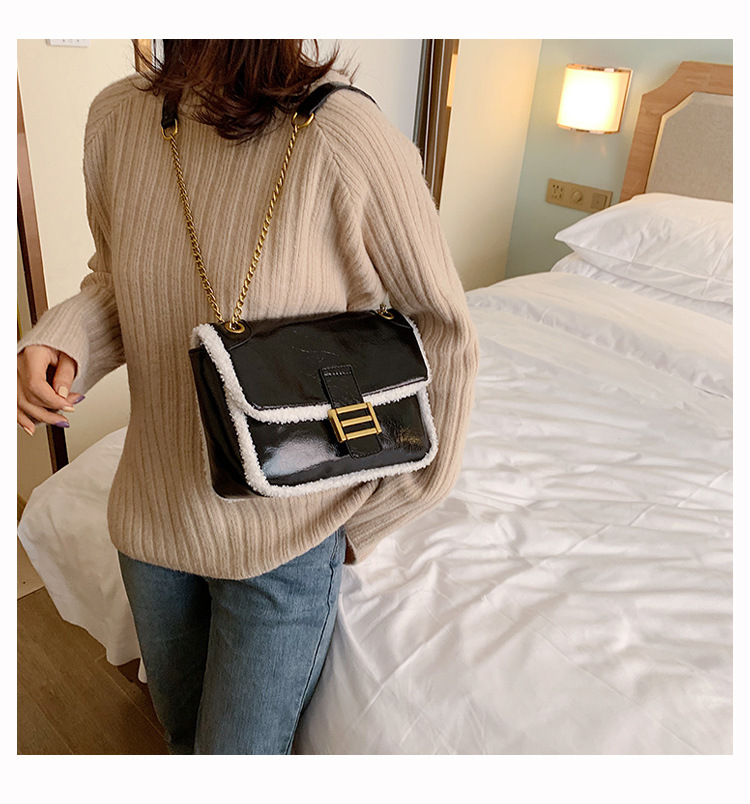 Casual solid color small bag women new autumn and winter NHLD194070