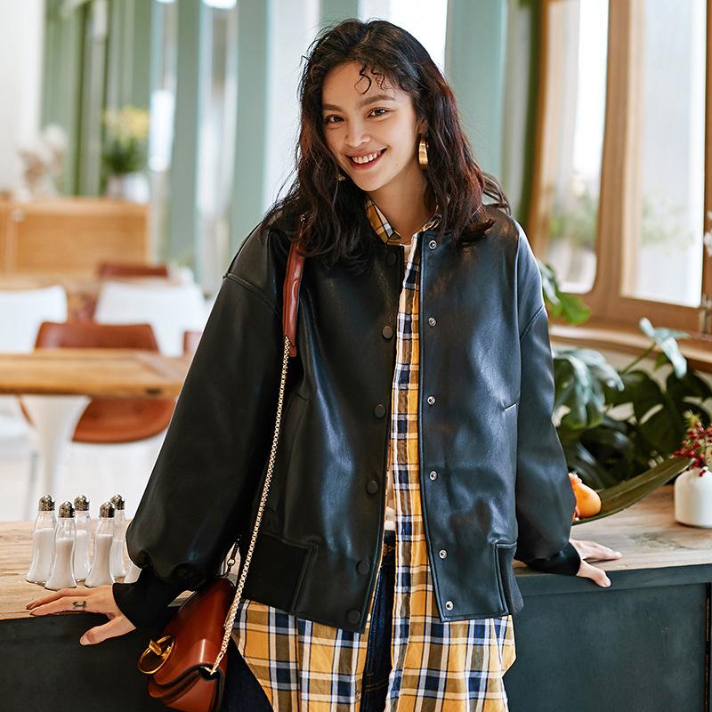 Veste cuir femme en PU - Ref 3333537 Image 6
