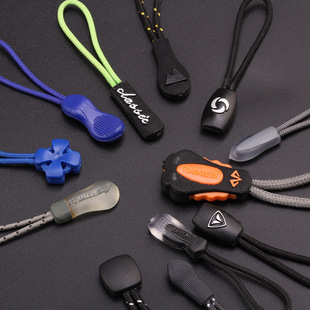 【Public slider】Zipper pull cord puller Existing mold pull loop 44 models free mold fee from 5000