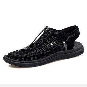 ស្បែកជើងបុរស Men Casual Sandals Outdoor Woven Trend Shoes PZ244297