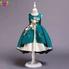 批发Girls Party Wedding Dress Princess Dresses Baby Kids