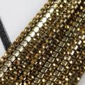 现货2MM矿金密集型水钻爪链钻链条钻DIY复古风步摇发簪发夹材料包