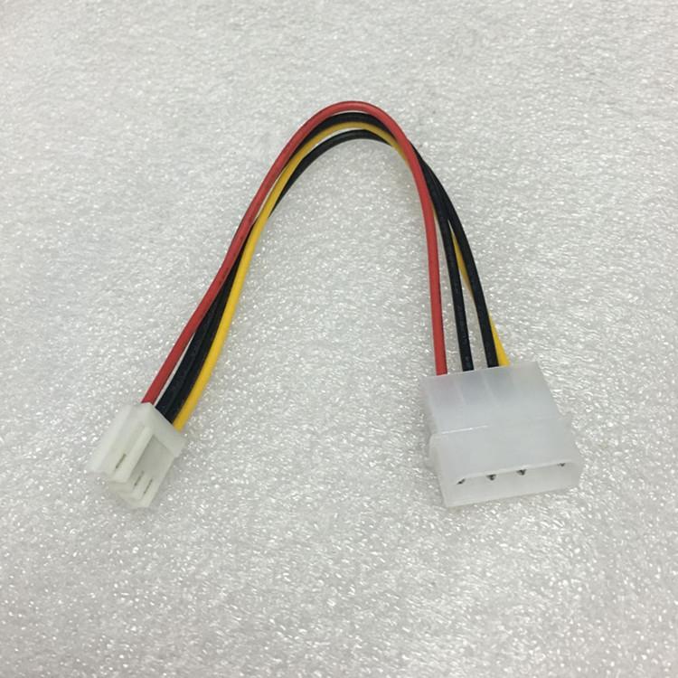厂家直销IDE电源转软驱电源线大4P转小4P电源线D型口转软驱电源线