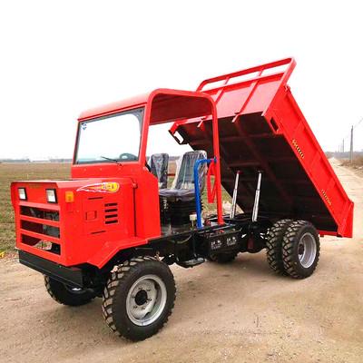 爬山虎四驱农用车 四不像四驱运输车 山地爬坡四轮自卸拖拉机
