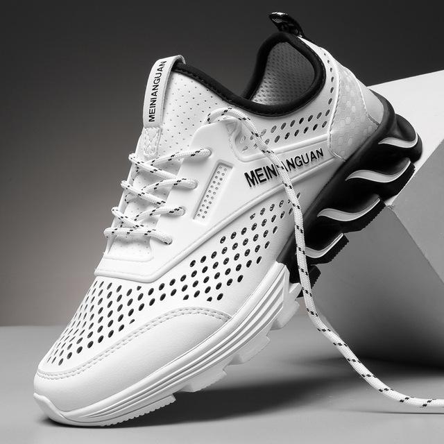 夏季新款鞋子透气跑鞋潮流运动鞋2019男士单鞋学生板鞋厂家直销