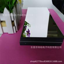 工厂定制亚克力方形塑胶镜片,浴室化妆镜,1.2MM电镀真空玩具镜