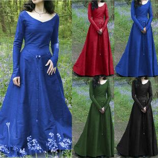 �W美古典中世�o�B衣裙