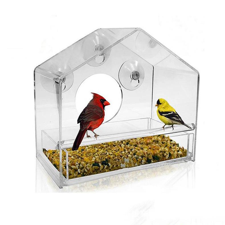 厂家定做亚克力喂养鸟窝 宠物窝鸟类小屋定制 有机玻璃爬虫饲养盒