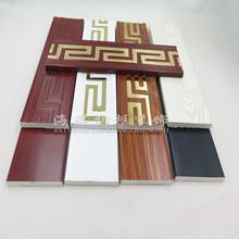 新款PVC平板装饰线条平板线246810腰线踢脚线分割线电视背景墙JD