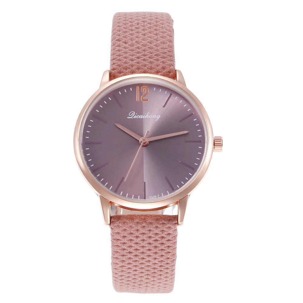 Ladies Fashion Watch Roman Scale Quartz Watch NHHK184904