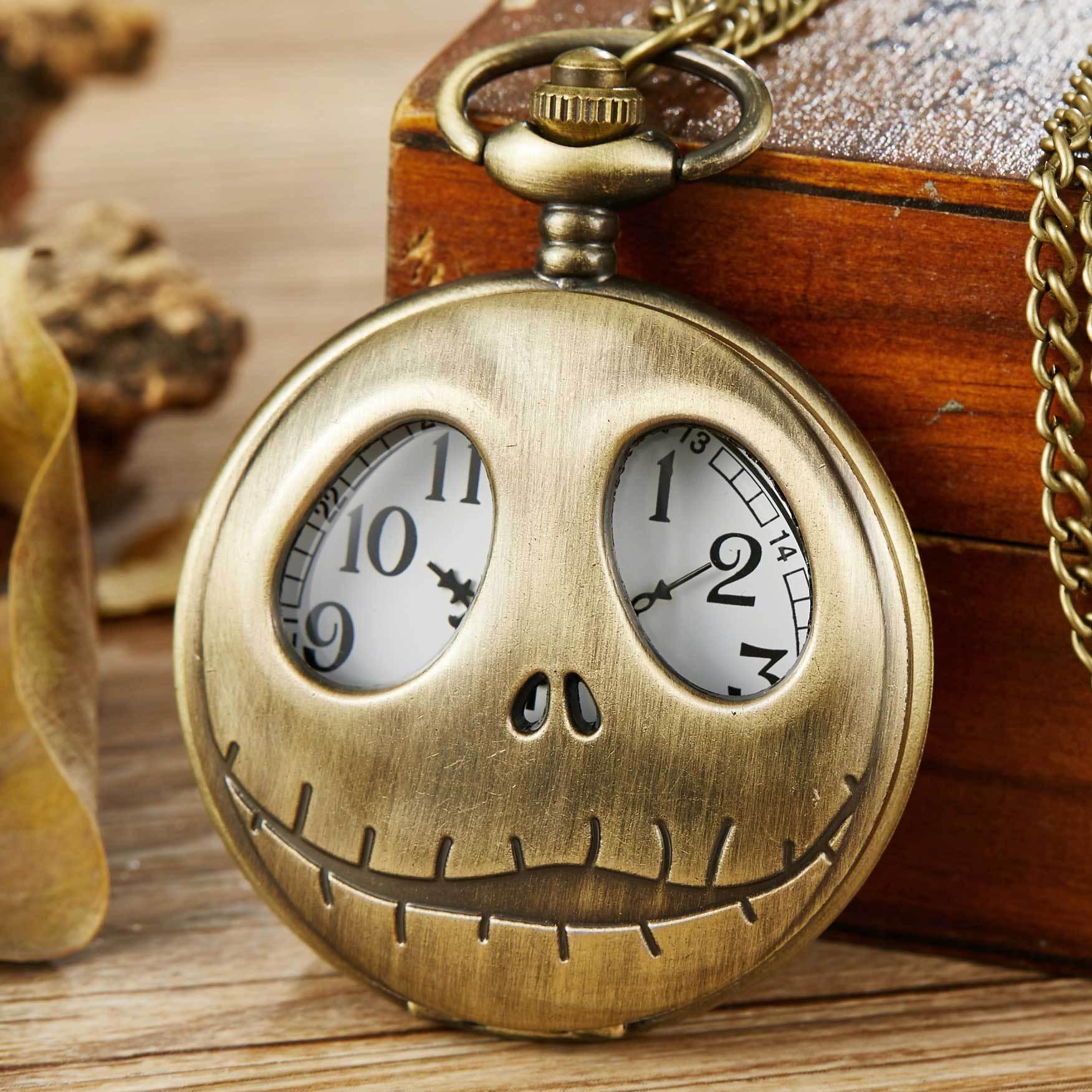 CK手表微商,外貿熱銷新款圣誕夜驚魂鏤空骷髏