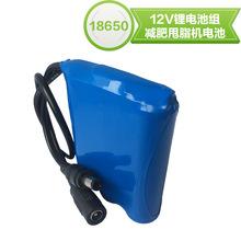 廠家專業定制12V鋰電池2000mah健身腰帶拉桿音箱舞臺燈充電電池組