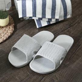Silen兴伦居家拖鞋女男情侣夏季室内洗澡防滑软底镂空家用凉拖鞋