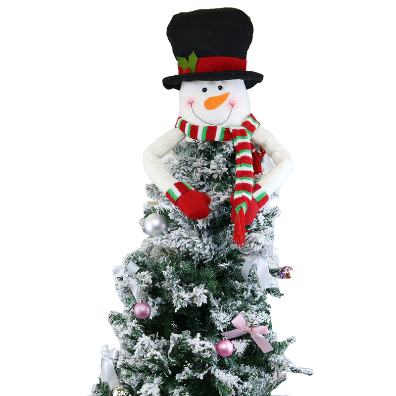 SNOWMAN TREE TOP STAR LARGE