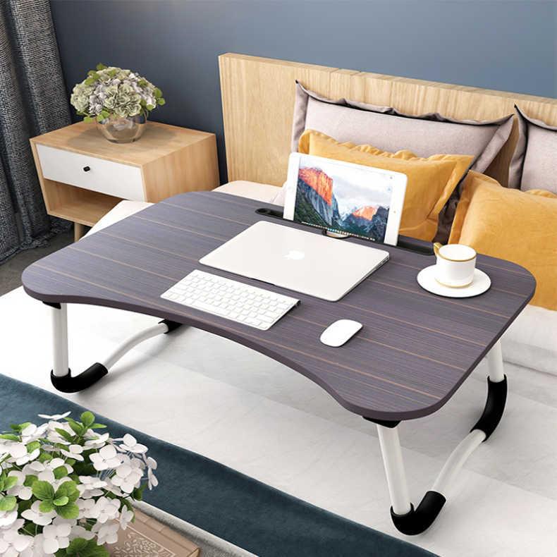 厂家直销笔记本电脑桌折叠电脑懒人桌书桌学生宿舍简约折叠小桌子