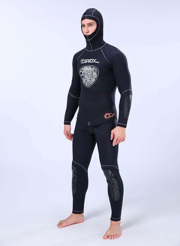 calças de manga longa scr neoprene wetsuit