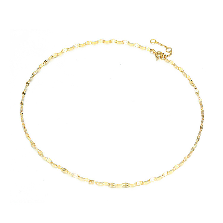 Jewelry single layer chain necklace female creative stainless steel accessories necklace 316L clavicle chain NHTF175318