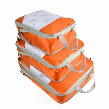 亚马逊爆款旅行压缩收纳包三件套防水行李箱衣物收纳袋衣服整理袋