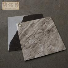通體大理石瓷磚深色 800*800 客廳地板磚防滑 負離子地磚黑色通體