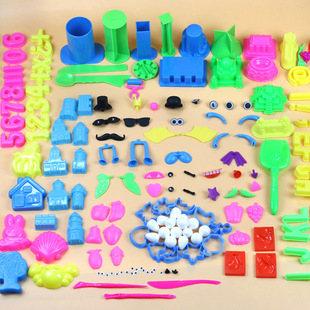 Factory price direct selling toys sand plastic mold plasticine tools ultralight clay space color clay children's toys