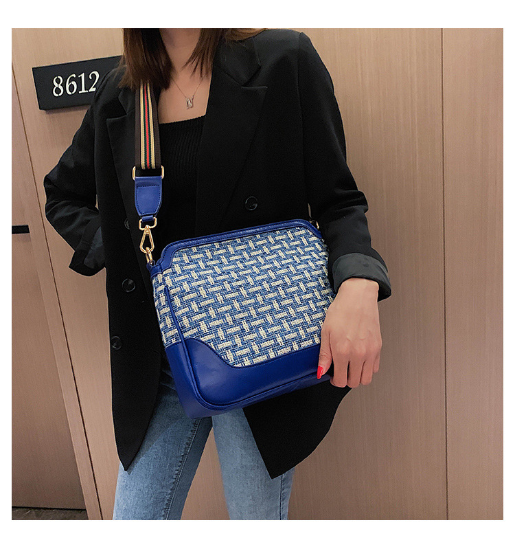 Fashion simple shoulder messenger bag NHTC150624