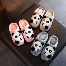 2019冬季新款儿童棉拖鞋卡通女童男童防滑拖鞋室内小孩宝宝毛棉鞋
