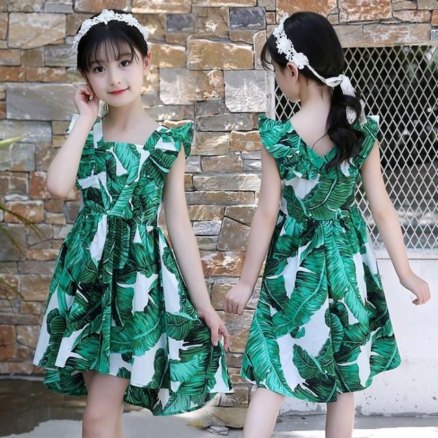 Xuân 2019 cô gái mới phù hợp với Hàn Quốc in áo len phù hợp với nữ lớn trẻ em phù hợp với thủy triều Bộ đồ trẻ em