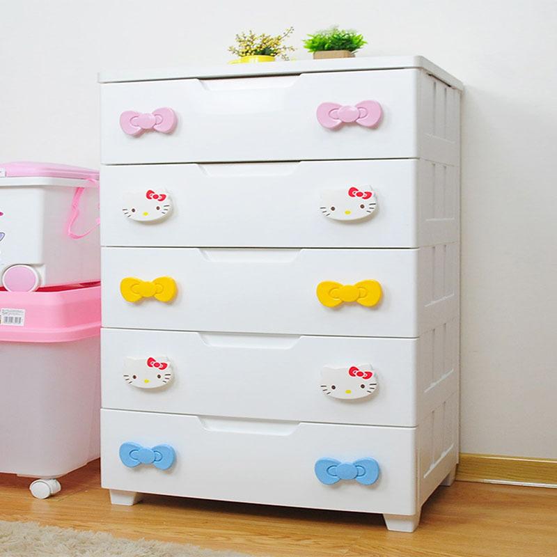 日本愛麗思收納柜組合抽屜柜寬型密閉整理柜子KMG-725一件代發