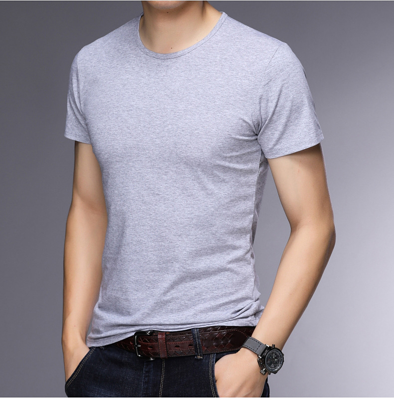 T-shirt homme - Col rond - Ref 3409000 Image 28