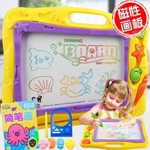 儿童磁性画板大号幼儿宝宝早教学?#24052;?#40486;写字板小孩画画可擦写黑板