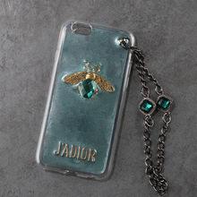 蜜蜂珍珠水钻合金配件手工diy材料滴胶制作手机壳配饰品手链挂坠