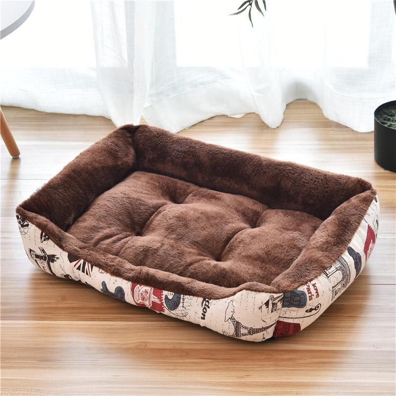 厂家直销 狗窝 猫窝 宠物用品批发 中大型犬宠物窝金毛狗床狗垫子