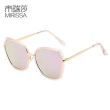 2019新款女士偏光太阳镜时尚潮人复古墨镜跨境速卖通防紫外线眼镜