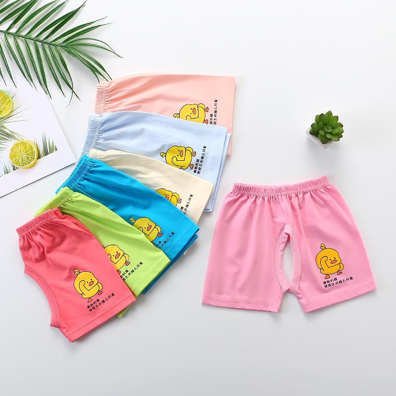 儿童开裆裤男童裤宝宝短裤夏季纯棉薄款小童童装婴儿裤子女童夏装