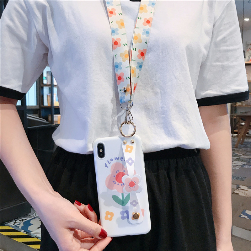 Fresh flower wristband Huawei mate30 mobile phone case NHHC184790