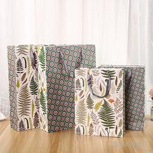 环保纸质彩色印刷手提纸袋通用礼品包装袋服装纸袋可定制规格批发