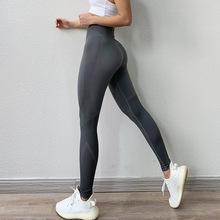 女士高腰收腹運動褲瑜伽健身速干褲打底瘦腿九分褲學生跑步下裝