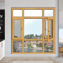 廠家直銷斷橋窗紗一體窗 鋁合金斷橋窗 定制鋁材框鋁合金門窗材料